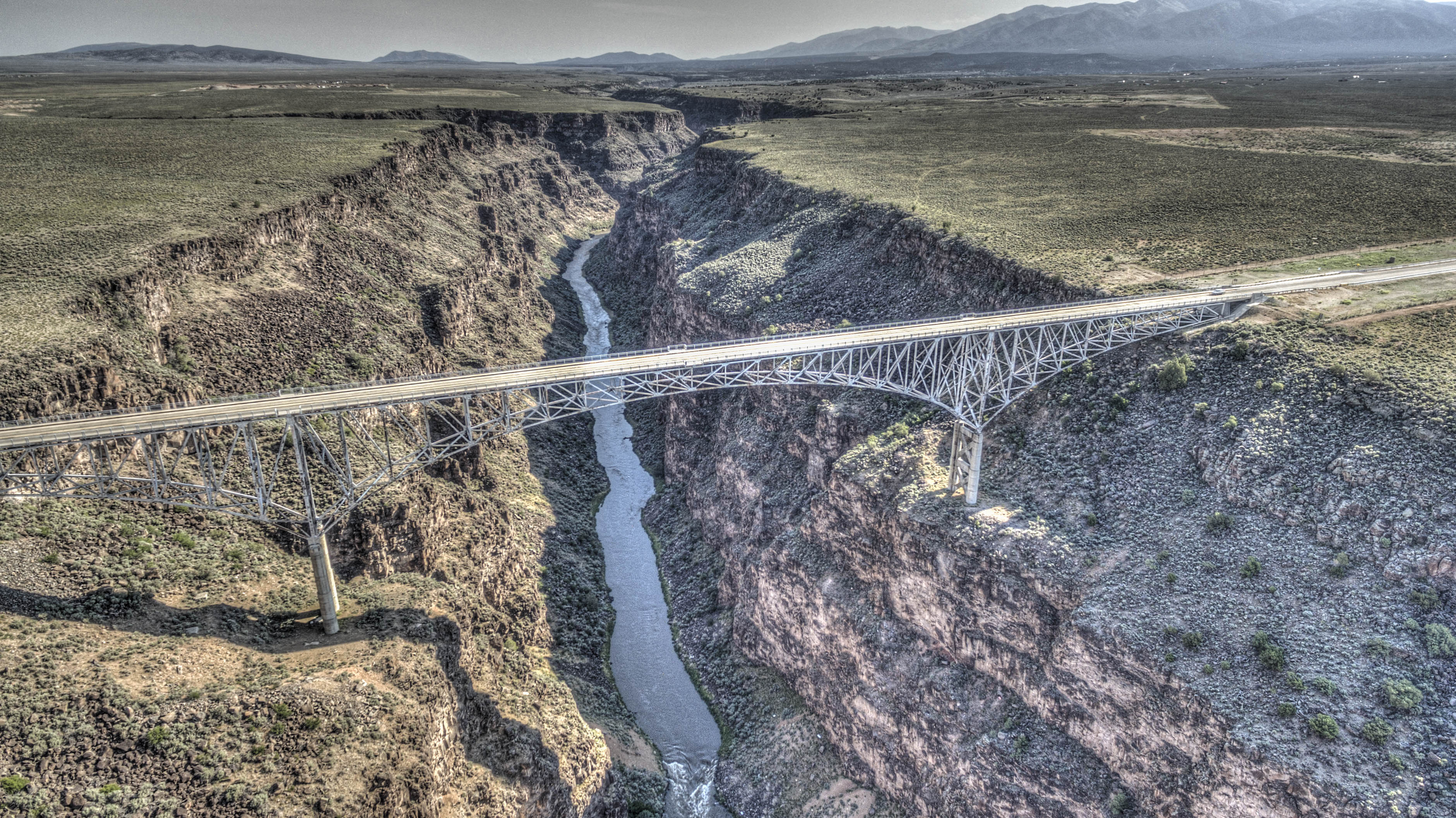 The Timeless Taos Gorge